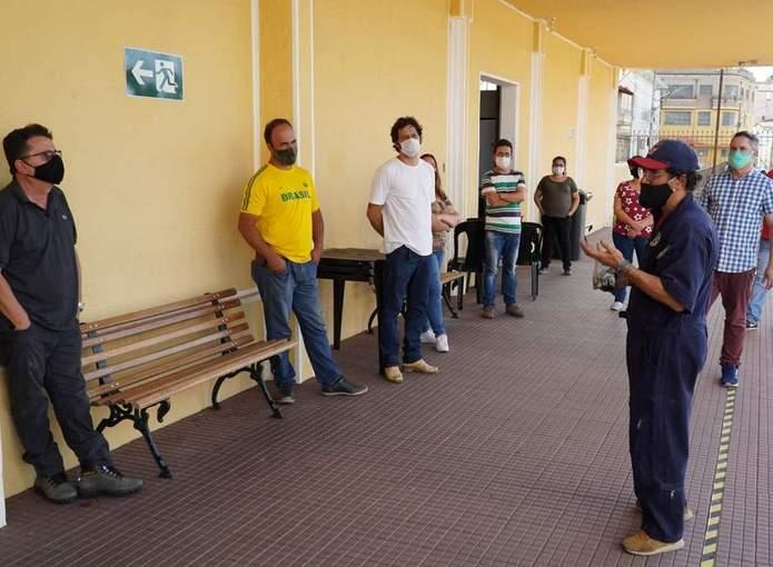 servidores fundação cultural treinamento