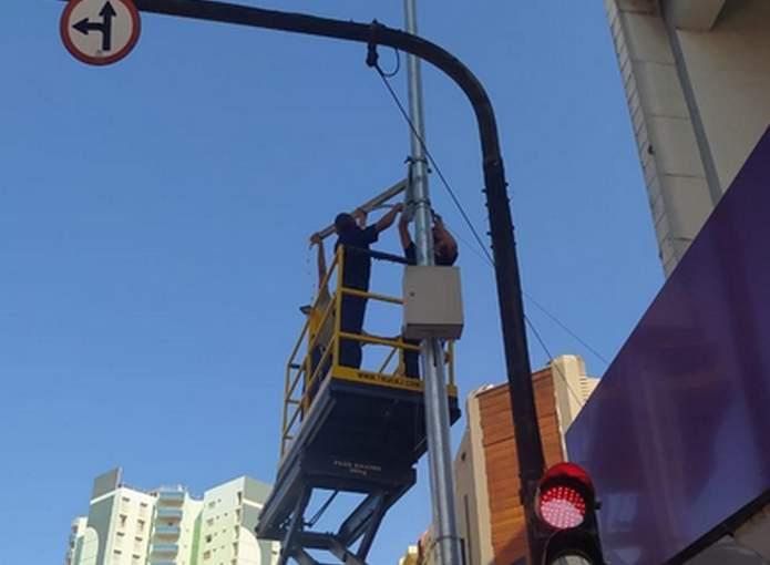 câmeras de segurança são instaladas em Varginha