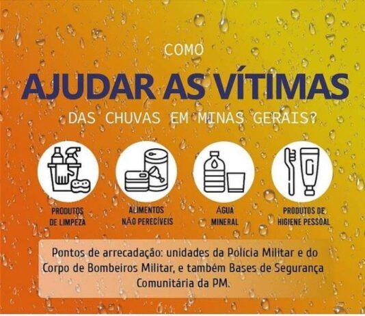 Campanha SOS Chuvas MG