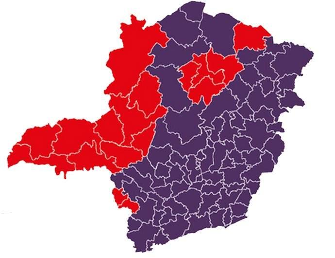 Mapa de Minas