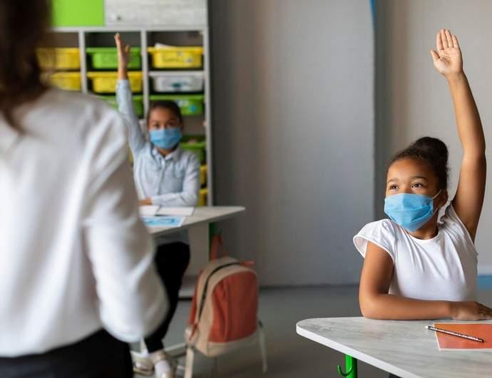 Sala de aula na pandemia