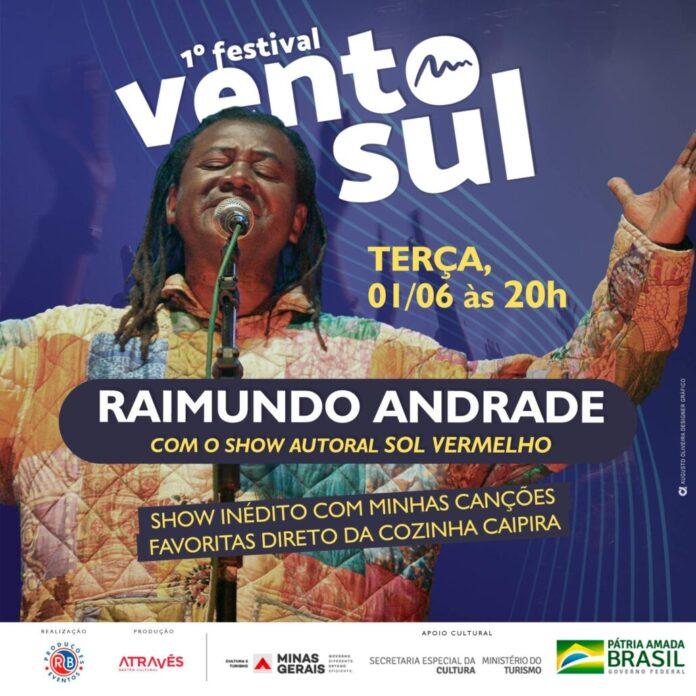 Festival vento Sul Raimundo Andrade