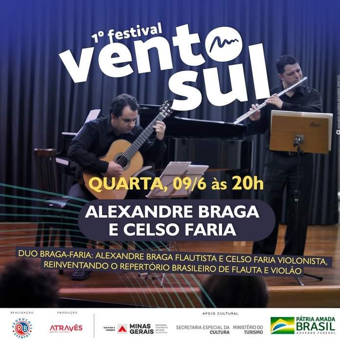 Festival Vento Sul Alexandre Braga e Celso Faria