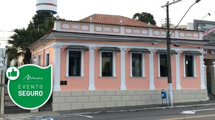 Museu Municipal de Varginhaa Selo Evento Seguro
